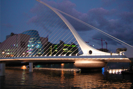 Samuel Beckett bridge in Dublin on the Irish Takeover Panel site